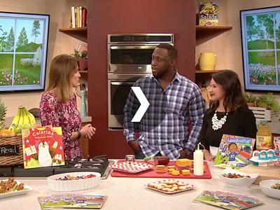 Stephen Tulloch Michigan Book Tour - Fox 2 Cooking